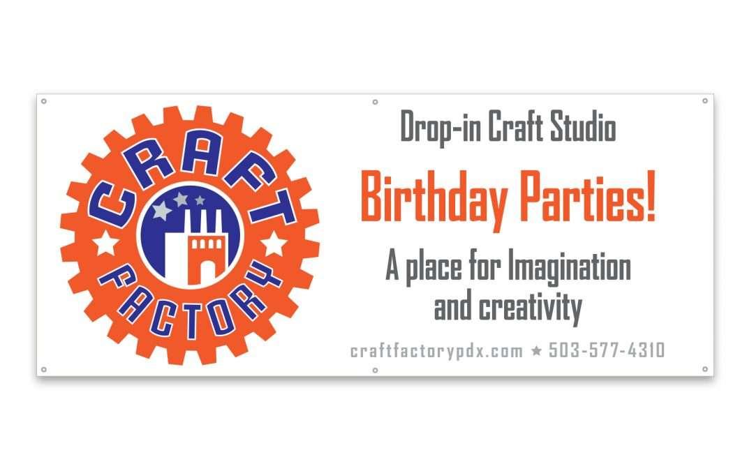 Craft Factory banner