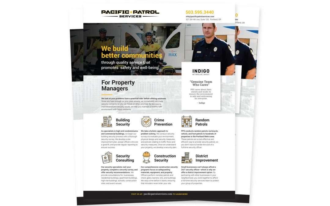 Pacific Patrol one-sheet