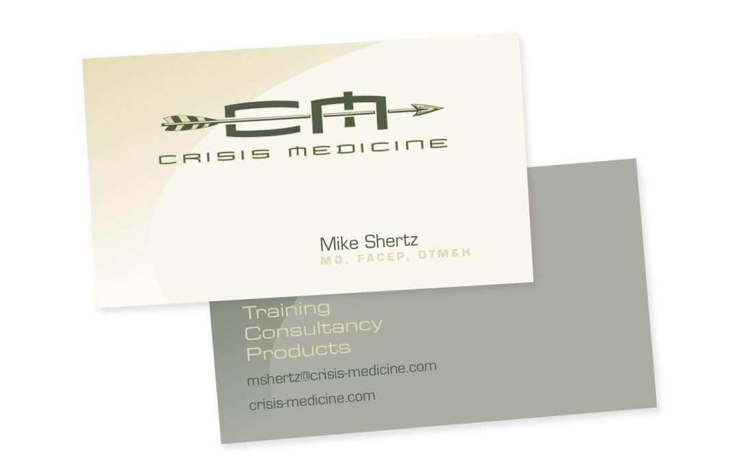 Crisis Medicine card