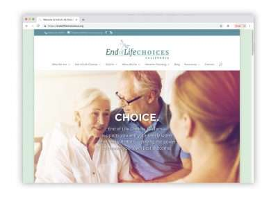 End of Life Choices California